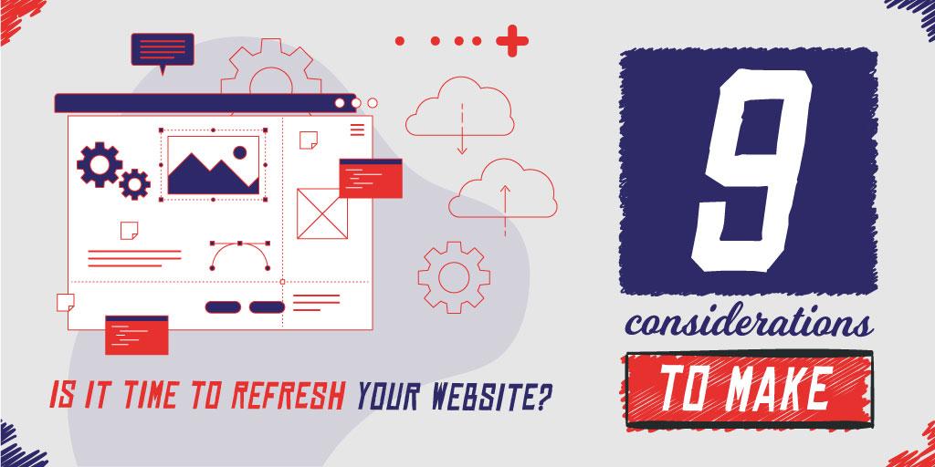Refresh your website